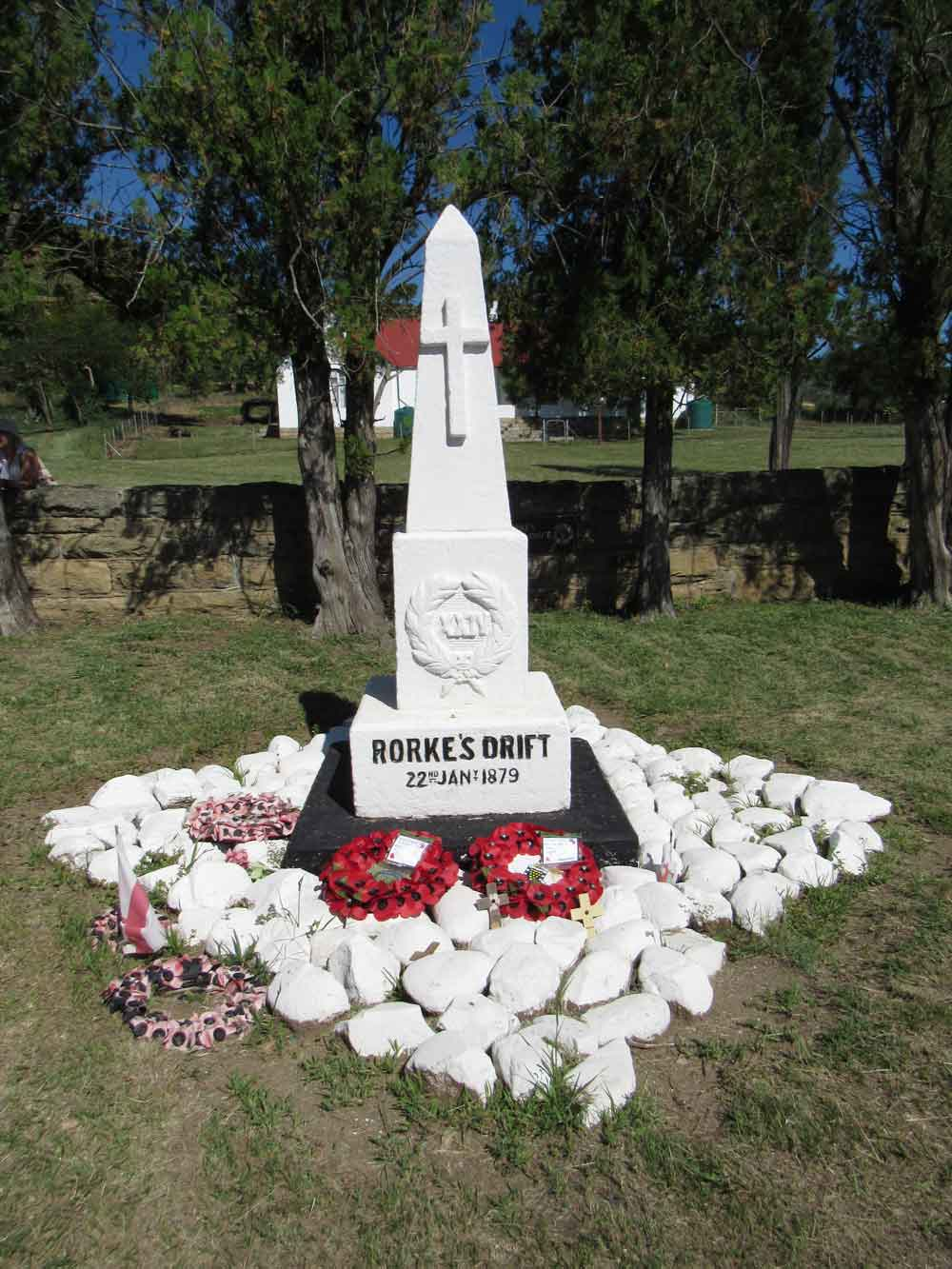 Rorkes Drift - British memorial
